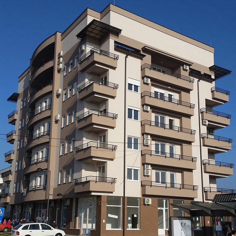 Elektroinstalaterski radovi na stambeno poslovnom kompleksu – LK Nekretnine Plus doo
