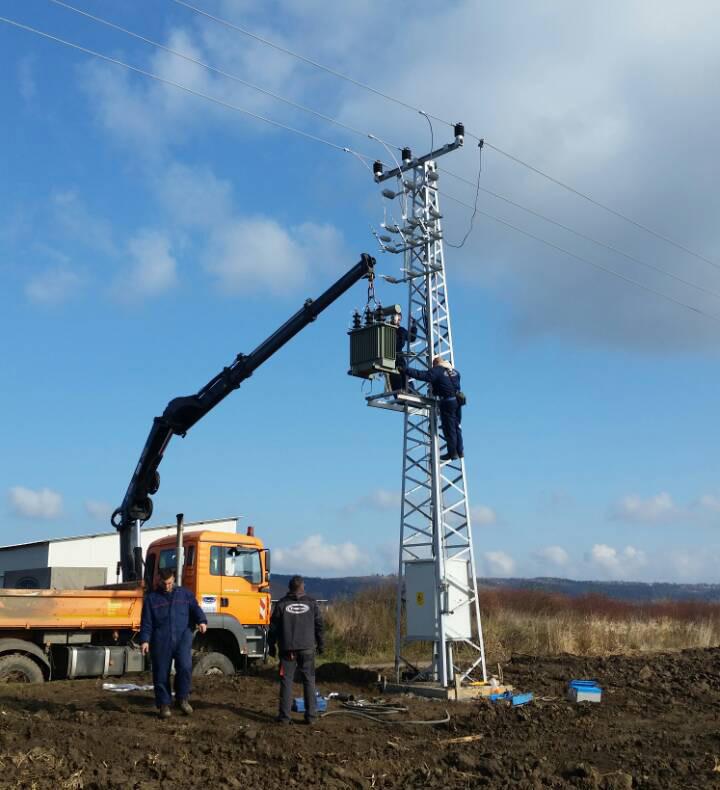 Izgradnja trafo stanice – Mag Agrar